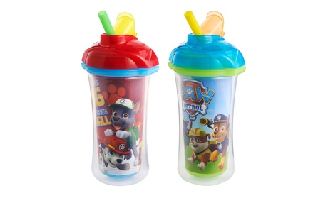 Munchkin Paw Patrol Click Lock Insulated Straw Cup,2 Pack 3015aea2-4405-4050-8bae-69a5d5ea3d5f