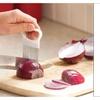 Stainless Steel Onion Slicer Vegetable Tomato Holder Cutter Kitchen