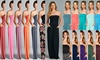 Made in the USA, Women's Pocket Strapless Maxi Dress