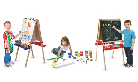 Melissa & Doug Standing Easles and Art Sets 5969683c-c5e4-4e65-9a34-017bef8273e0