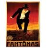 'Fantomas' Canvas Rolled Art