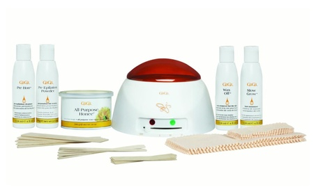 GiGi Student Starter Hair Removal Waxing Kit 0b747d13-6965-45ee-aba9-4089be1d0ac4