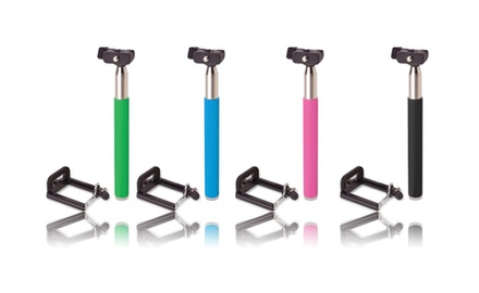 Extendable Selfie Monopod for Cell Phones - 4 Colors