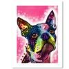 Dean Russo 'Boston Terrier' Paper Art