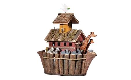 Animals Noah's Two by Two Ark Fanciful Fun Bird House (Goods Outdoor Décor Bird Feeders & Baths) photo