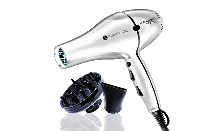 Infinity Gold Hurricane 4800 Micro Gold Infused Blow Dryer