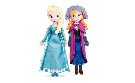 Frozen Princess Doll Cartoon Anna/Elsa Plush Stuffed Toy Birthday Gift 69b7d674-5267-407c-bc1b-cdcda6ddd02f