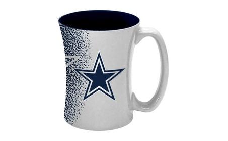 Dallas Cowboys Coffee Mug - 14 oz Mocha 6d0e0b2a-ca4e-42d2-b985-f1d81da393d0