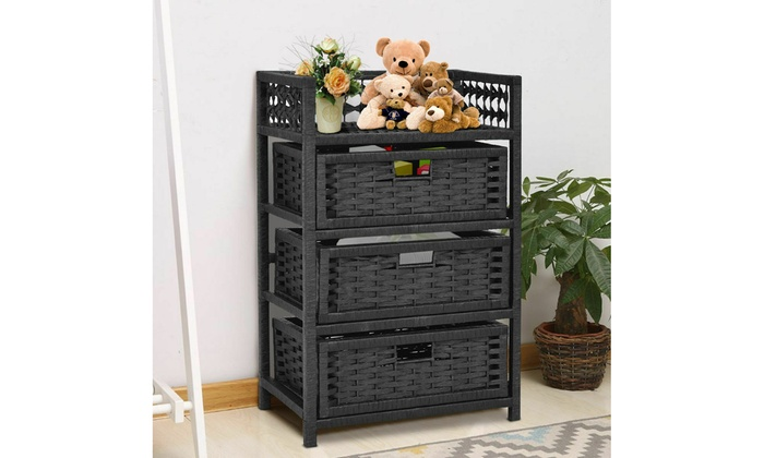 Up To 40% Off On Costway 3 Drawer Storage Unit... | Groupon ...