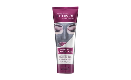 Retinol Purifying Charcoal Mask Detoxifies Pores & Illuminates skin