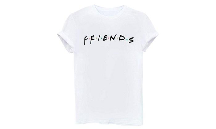 LOOKFACE Women/'s Cute T Shirt Junior Tops Teen Girls Graphic Tees Black Medium