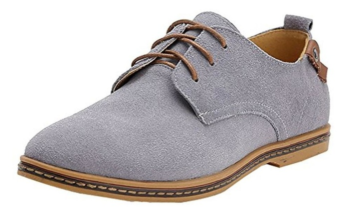 iLoveSIA Men's Leather Oxfords Shoe