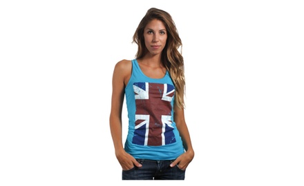 London Flag Tank Top