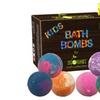 Kids Bath Bombs Gift Set with Surprise Toys, 6x5oz