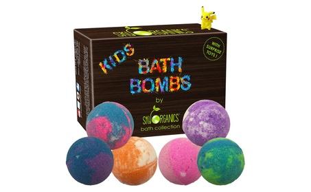 Kids Bath Bombs Gift Set with Surprise Toys, 6x5oz c36d2cf4-a05c-495e-93d4-fdf8b49670b2