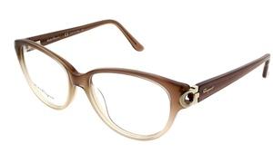 Salvatore Ferragamo Eyeglasses SF2735 267 Beige Gradient / Clear (No Case)