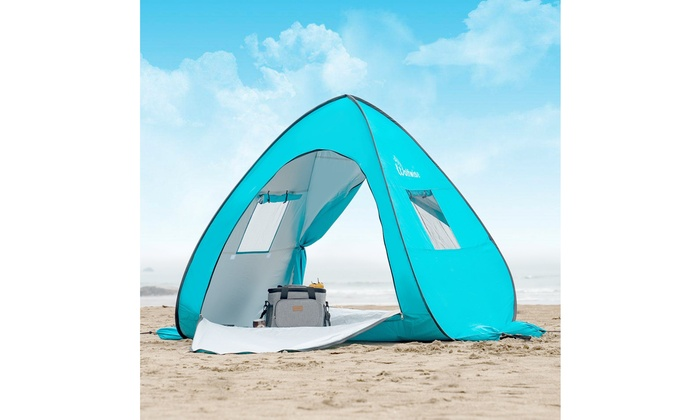 quality design 0ddd9 2d2f1 Up To 57% Off on UPF 50 Easy Pop Up Beach Tent... | Groupon ...