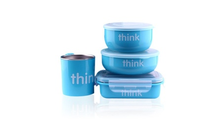 thinkbaby The Complete BPA Free Feeding Set, Light Blue 35fc60a1-86a1-4bfe-8512-be832cbbb915