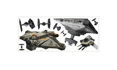 Roommates Star Wars Rebels And Imperial Ships Giant Wall Decals fe3a1a3b-ced6-40b0-a821-a72a516fbb35