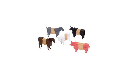 Guidecraft Block Mates Farm Animals 4d5d6c08-fb96-4d5e-98be-dcef0e6d3d76
