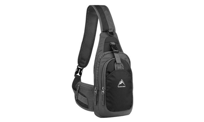 MALEDEN Water Resistant Sling Backpack Travel Crossbody Bag  34d8e2a04d4d1
