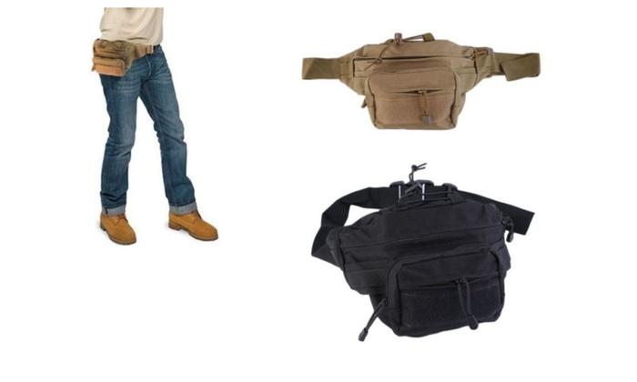 Rucksack Tactical Molle Messenger Assault Sling Backpack