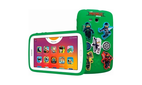 "Samsung Galaxy 7"" Kids THE LEGO NINJAGO MOVIE Tablet 8 GB Android 4.4"
