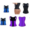 Neoprene Slimming Vest For Women 5 Pack Black, Blue, Pink, Purple