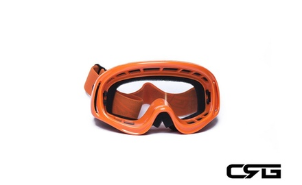 CRG Motocross ATV DIRT BIKE OFF ROAD RACING GOGGLES Adult T815-3-6