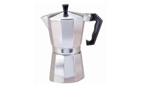 Epoca PES-3309 P Alum. Stovetop Coffeemaker 9C 5ebe9524-41d1-44d8-a269-cf04cbab4d7f