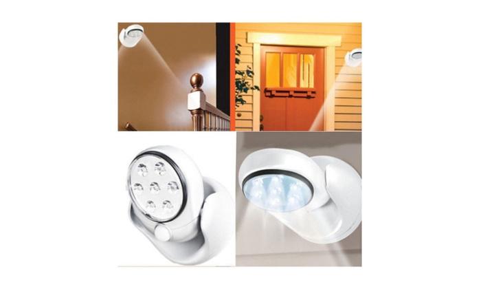 New Motion Activated Cordless Sensor Light Indoor Outdoor Garden Wall