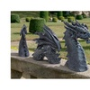 Dragon Lawn Statues