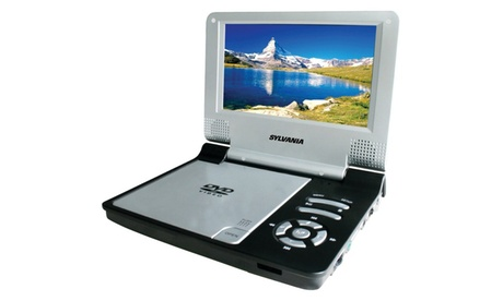 "Sylvania SDVD7014 Black 7"" Portable DVD Players (black) 629b34ae-b746-4e7a-8845-8b720f05a724"