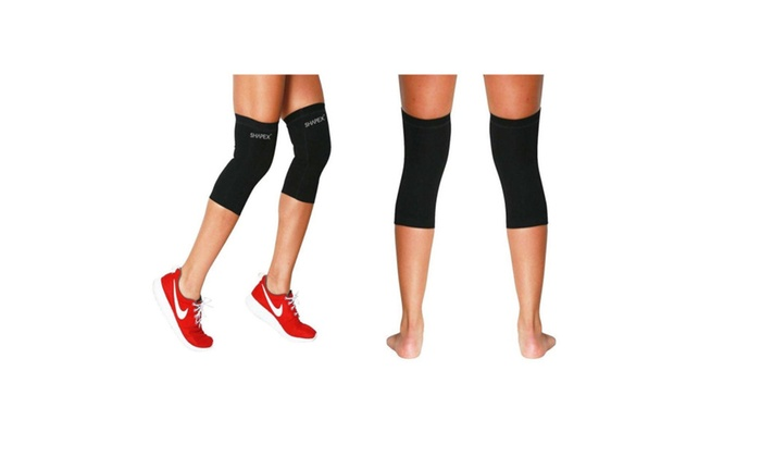 Premium Compression Recovery Knee Sleeve (Large) One Pair By Shapex