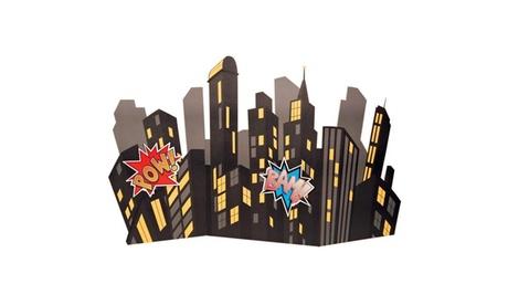 Superhero Comics Standup City Scape e760e60d-a118-4ce5-8c2f-f291cafea886