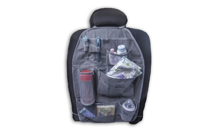 Car/Auto Back Seat Organizer - GRAY