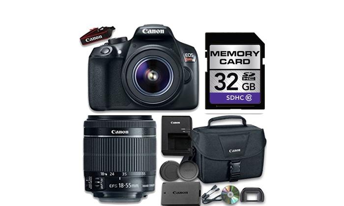 Canon EOS T6 Bundle