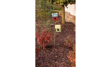 Bird House & Nest Garden Stake (Goods For The Home Home Décor Outdoor Décor) photo
