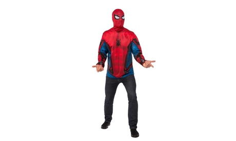 Spider-Man Homecoming - Spiderman Adult Costume Top 1b3ea83e-8c1e-4760-9669-0e2818909c0d