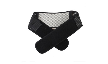 Adjustable Self Heating Magnetic Therapy Pain Relief Back Brace Support Wrap