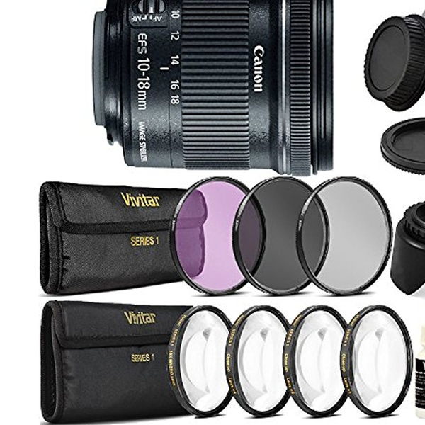 Canon EF-S 10-18mm f/4 5-5 6 IS STM Ultra Wide Angle Lens for Canon
