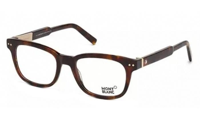 743c24a03b292 Mont Blanc MB0628 Eyeglasses Tortoise Clear