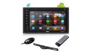 Double DIN Android Car Stereo, DVR Dash Cam, Backup Camera, WiFi, GPS, Bluetooth
