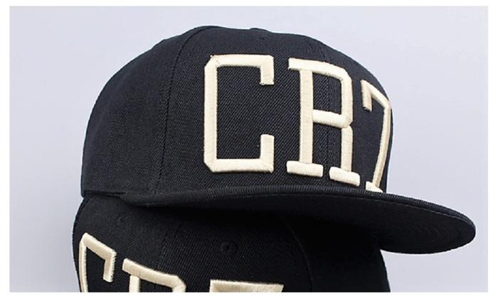 CR7 Black Baseball Cap.  2f9a66e6655