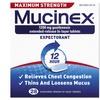 Mucinex Max Strength Expectorant (28-Count)