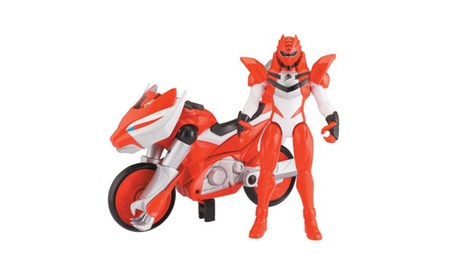 "Power Ranger Jungle Fury Power Ranger Cycles with 5"" Figure - Tiger Ba 3b9af269-ef14-41ec-9f15-c79c99a276da"