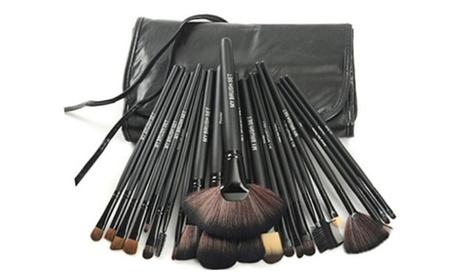 1st Shop Top Premium Makeup Brush Set with Vegan Leather Case-24 unit 00d8cf93-b1ef-45bb-a768-7a868a1d35fc