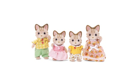 International Playthings - Calico Critters Sandy Cat Family 1847dbba-c992-4369-a3e3-cc9982a10e38