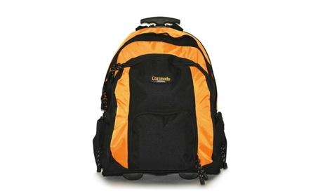 Large Rolling Backpack Wheeled School Bookbag Travel Carry-On Bag 435c5a17-c5b1-4656-addb-e70053568176