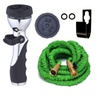 Expandable Garden Hose With 9 Pattern Sprayer And Holder